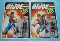 *RECARDED* 1985 GI Joe Tomax & Xamot Lot Complete Sealed *CUSTOM File Card Back*