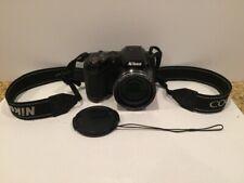 Nikon Coolpix L310 Digital Camera 14.1MP 21x Black TESTED