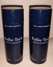 Hair Building Fibers Dark Brown 55g Follic Tech 2 Shakers For Price Of Refill