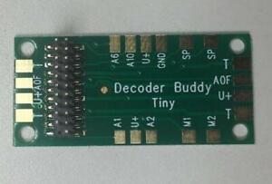 NixTrainz   Decoder Buddy Mini (Separate Resistors Included)   Motherboard