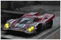 CODEX 1/12 DRIVER FINISH LINE + Night Vers Porsche 917 Le Mans 70 #23 MINICHAMPS