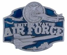 Enamel Belt Buckle - Brand New! United States Air Force - 3D Colored