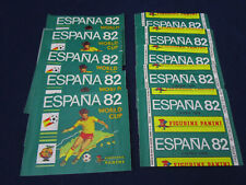 Panini WM World Cup WC 1982 Espana 82,10x packet/Tüte/bustina,rare,MINT,unopened