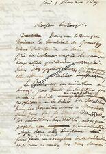HOUBIGANT (Armand Gustave) parfumeur et homme politique français (1790-1863)