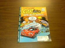 CARTOONS magazine - 1990 February - CAR TOONS - hot rods racing cars PETERSEN
