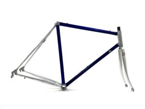 Vitus 979 Dural 54 cm 28/700c Racing Bicycle Frame Aluminum Inox Blue Silver