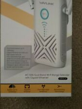 Wavlink Ac1200 Dual band wi-fi range extender with Gigabit Ethernet.Aerial X