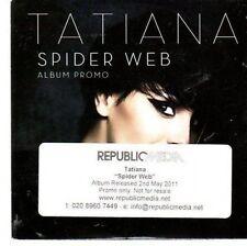 (CC347) Tatiana, Spider Web - 2011 DJ CD