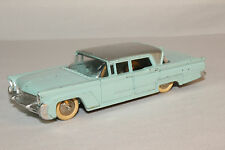 1950's Dinky #532 Lincoln Premiere, Light Blue Silver Roof, Nice Original