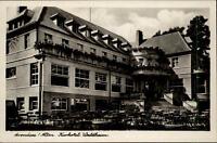 Arendsee Altmark ungelaufene Postkarte ~1930/40 Partie am Kurhotel Waldheim