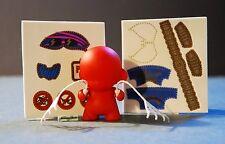 Marvel Micro Munny Vinyl DIY Munnyworld Series 2 Kidrobot Scarlet Spider
