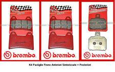 07BB19SA+07BB2035 Kit Pastiglie Freno Ant+Post Ducati Hypermotard Monster 1100