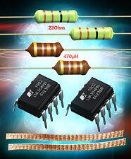 2er Set LNK304PN + Widerstand 22 Ohm 3W + HF Drossel 470µH + 5cm Entlötlitze