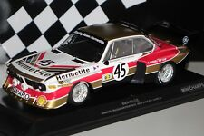 BMW 3.5 CSL 24h Le Mans 1976 Hermetite #45 1:18 Minichamps 155762645 neu & OVP