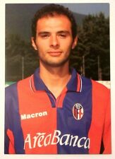 Cartolina Bologna Calcio 2001-02 Giulio Falcone