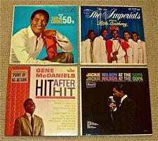 '50s-'60s R&B SINGERS:Sam Cooke/Imperials/Gene McDaniels/Jackie Wilson
