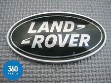 NEW GENUINE LAND ROVER DEFENDER EVOQUE NAME PLATE BADGE BLACK LR051450 LR060140