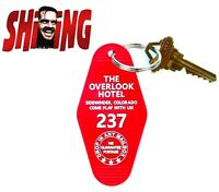 THE OVERLOOK HOTEL horror movie ROOM 237 Shining PROP KEY TAG Stephen King 1980