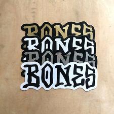 Powell Peralta Bones script skateboard sticker Cliver VCJ skeleton font graff