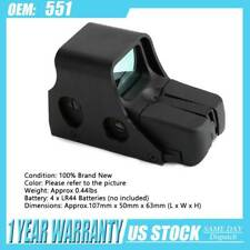 Red Green Dot Holographic Sight 551/552 Tactical Airsoft Scope Sight