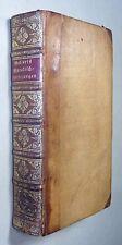 GELLERT: MORALISCHE VORLESUNGEN, EA 1770, Weidmann, Halbleder, Prachtausgabe