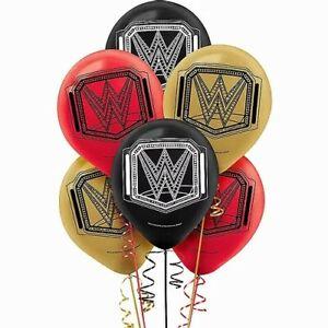 WWE Wrestling 6-Pack Latex Balloons