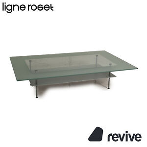 Ligne roset Cailleres Glass Table Grey Coffee Table