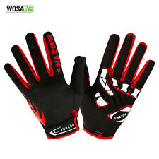 Winter Thermal Fleece Full Finger Cycling Gloves Racing Bike Bicycle Glove Warm