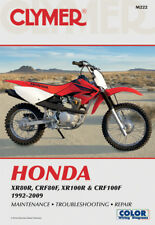 CLYMER Repair Manual for Honda XR80R, CRF80F, XR100R and CRF100F 1992-2009