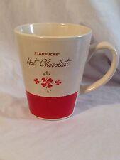 STARBUCKS New 2010 Hot Chocolate Mug 15 oz. Tea Coffee Cup Holiday EUC