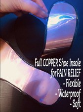 100% Copper insole for joint pain,weak blood circulation, pain reliefe,arthritis