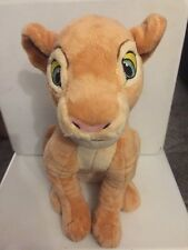 "Rare 17"" Disney Lion King Nala  From Simba Plush Stuffed Animal Sitting Lion"