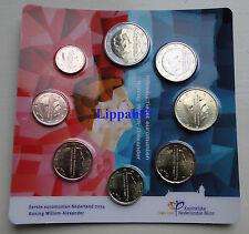 Nederland Introductieset Koning Willem-Alexander 1 cent - 2 euro 2014 UNC
