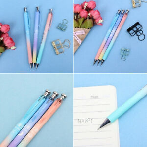 1*Moon Star Plastic Mechanical Pencil Automatic Pen For Writing School Supply US