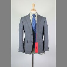 NEW HUGO BOSS 36S Gray Check Wool 2B Mens Sport Coat Blazer Suit Jacket 51-3