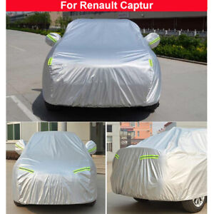 Car Cover Waterproof Sun UV Dust Rain Protection For Renault Captur 2014-2021