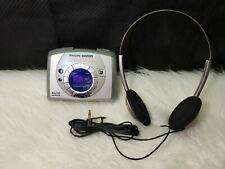 Philips Magnavox AQ6688 Stereo AM/FM Radio Cassette Player (with Headphones)