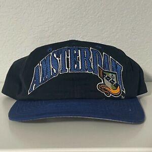 NFL Europe Amsterdam Admirals Vintage Starter Snapback Hat/Cap