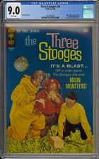 THREE STOOGES #29 - CGC 9.0 - MOON MONSTERS. PHOTO COVER - 2021063004