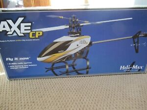 Heli-Max AXE CP 2.4 GHZ helicopter with box