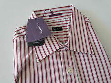 Paul Smith Formal LS Classic Shirt  Red Stripe