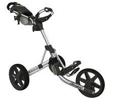 Golftrolley Clicgear 3.5+, 3-Rad, das neueste Modell, Farbe: silber!