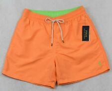 Polo Ralph Lauren Swim Trunks Briefs Shorts Swimming Orange L Large NWT
