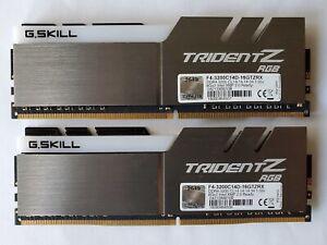 ✔ G.SKILL TridentZ RGB 16GB (2x8GB) 3200 *C14* AMD Ryzen 25600 DDR4 B-Die GSKILL
