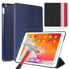 For iPad 7th Gen Generation 10.2 inch Case Leather Stand Cover /Screen Protector