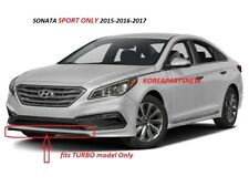 Front Bumper Lower Spoiler Chin Lip Splitter ⭐OEM⭐ Sonata Sport Turbo 2015-2017