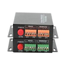 High Quality RS485/422/232 Data to Fiber Media Converter Extender  FC S/M 20Km