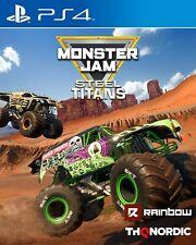 Monster Jam Steel Titans PS4 - NEW