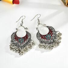 Women Fashion Boho Tassel Chandelier Dangle Hook Earrings Gypsy Bohemian Jewelry