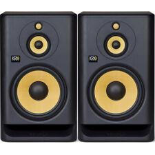2x KRK Rokit RP10-3 G4 Active DJ Studio Monitor Speakers